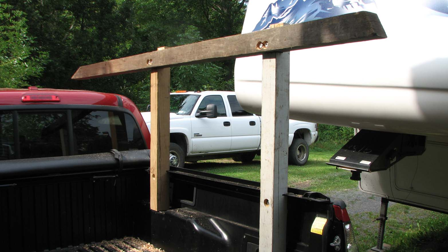 wooden truck rack plan