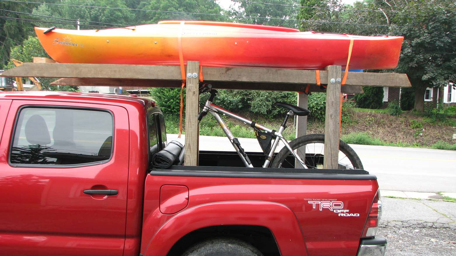 Diy Kayak Rack Nice Home Design