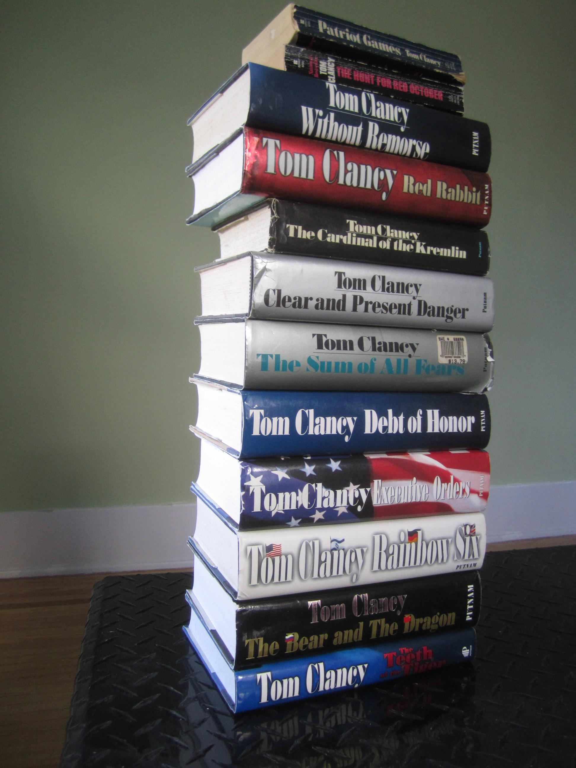 A Jack Ryan Novel Series
